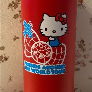 Red Hello Kitty hydro flask